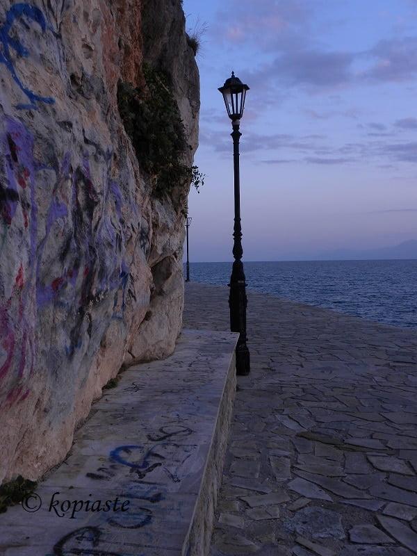 Light pole Arvanitia