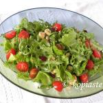 Spring Green Salad with Strawberries and Feta