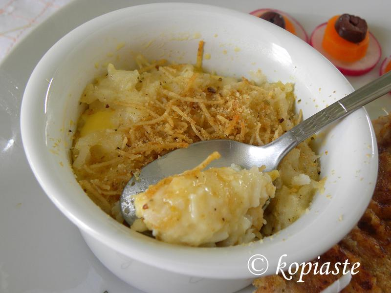 Savoury Rice Pudding