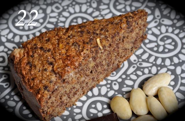 Torta al cioccolato con mandorler e mela, from Simonar