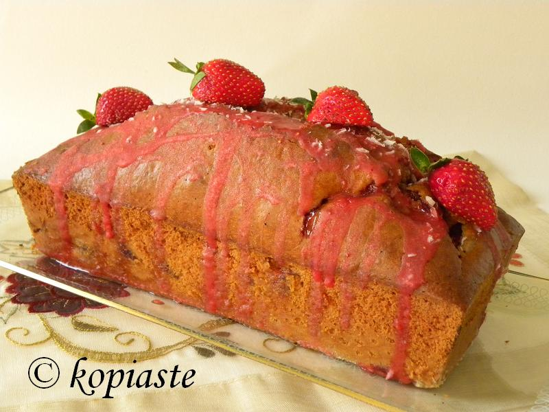 Strawberry Coconut Olive Oil Cake3