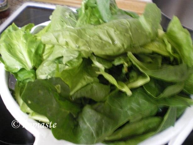 spanaki spinach