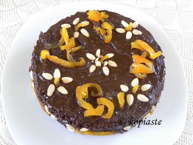 Queen of Sheeba Almond Chocolate Cake