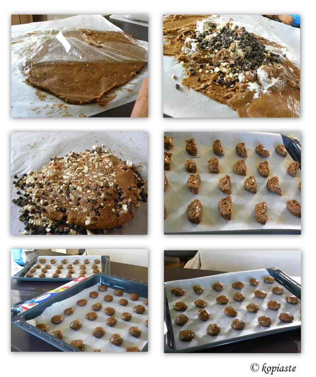 collage Petimezi Chocolate Cookies