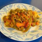 Stove top Tourlou-Tourlou me Fassalokia (Vegetable Medley with Green Beans)