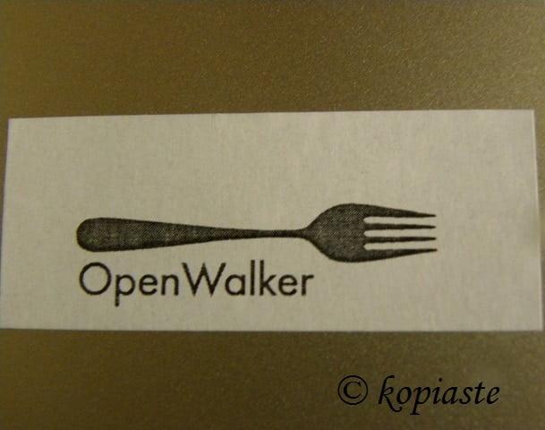 Open walker badge