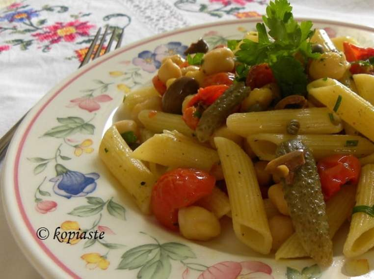 Penne with roasted tomatoes2