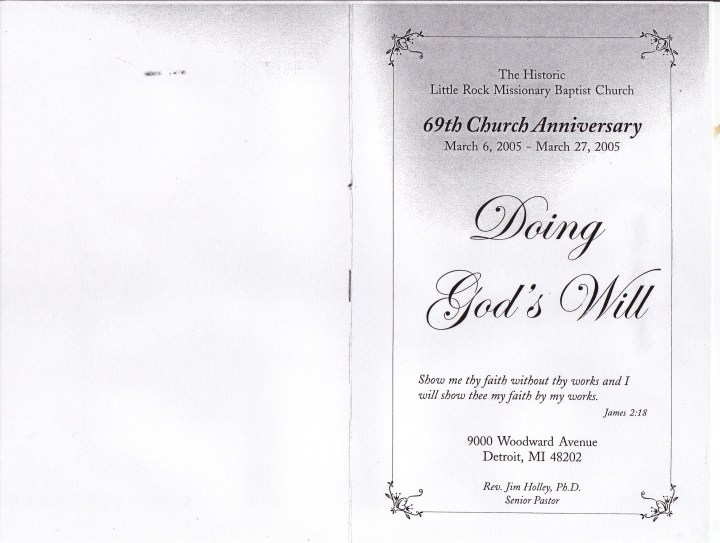 church anniversary theme and scripture | just b.CAUSE