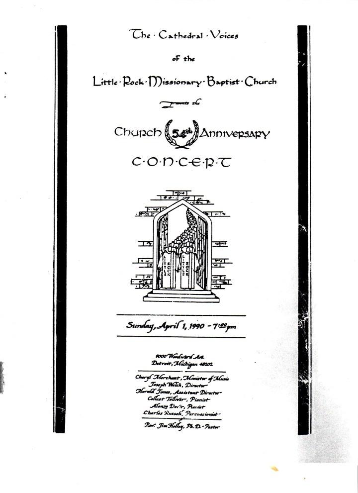 Baptist Church Anniversary Poems