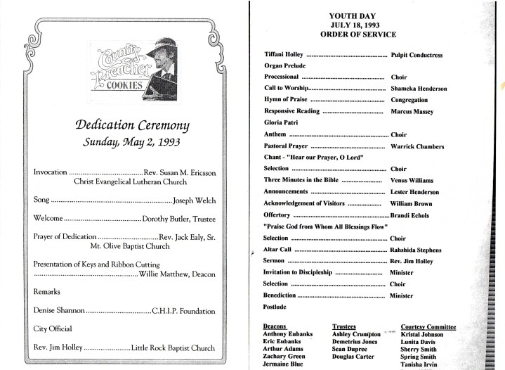 church anniversary program outline Quotes