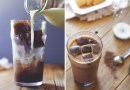 Iced Mocca with Coffee Ice Cubes
