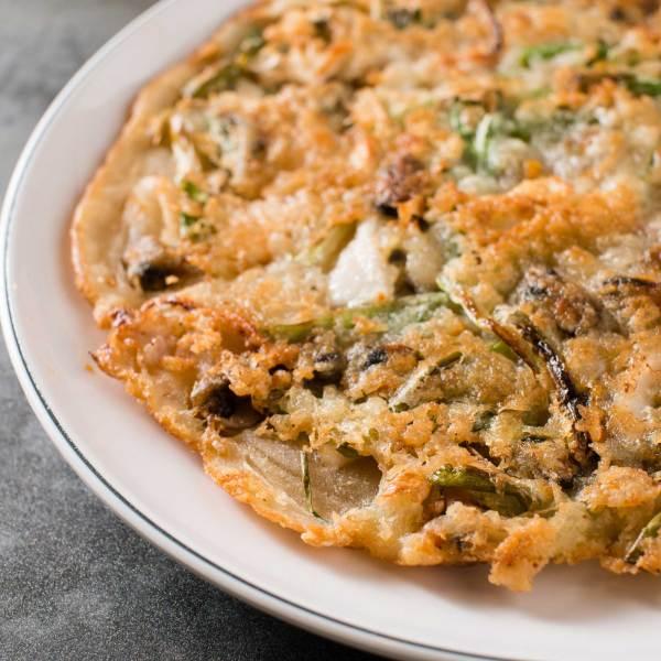 Seafood Scallion Pancake 해물파전
