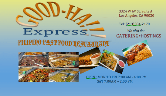 Good-Ha Express: Filipino Restaurant