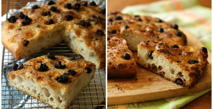 Daring Bakers: Sweet or Savoury Sourdough Focaccia
