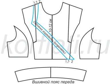 Как сшить черное платье - моделирование лифа