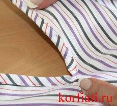 Мастер-класс по шитью - обработка разреза рукава косой бейкой