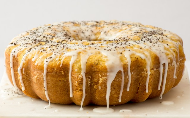Poppyseed Cake with Orange Glaze