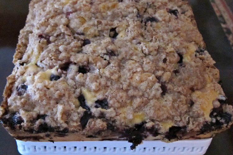 Sweet Blueberry Crumb Cake