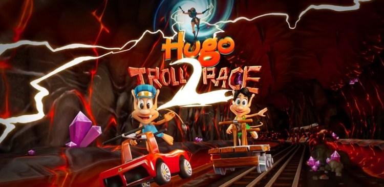 hugo troll race 2 ist ein guter endless runner mit dem troll. Black Bedroom Furniture Sets. Home Design Ideas