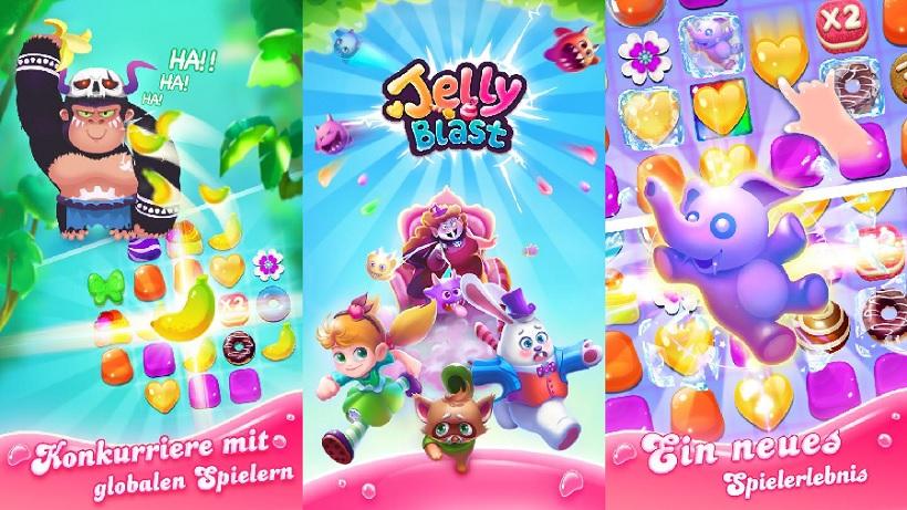 Jelly Blast macht Lust auf Süßes