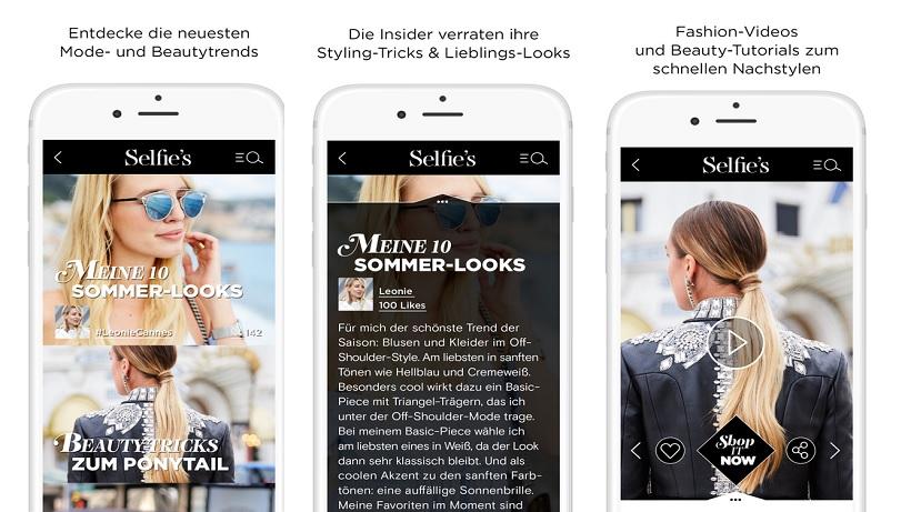 Das All-in-One Fashion-Magazin fürs Smartphone