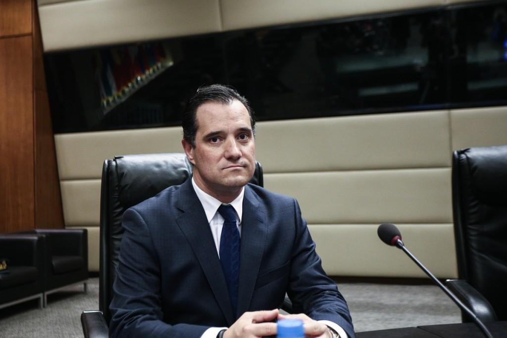 The president of the New Democracy party Kyriakos Mitsotakis, visits the Ministry of Defence, in Athens, on Nov. 22, 2016 / Επίσκεψη του προέδρου της Νέας Δημοκρατίας Κυριάκου Μητσοτάκη στο Υπουργείο Εθνικής Άμυνας, στην Αθήνα, στις 22 Νοεμβρίου, 2016