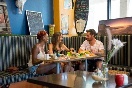 Meilleur backpacker Brisbanne - YHA-Brisbane_Cafe_Drifters