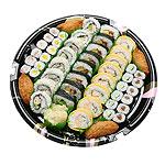 D-Maki Set  (52pcs) - Makimono: Futo Maki, Egg Maki, California Maki Hoso Maki: Ume, Kanpyo, Cucumber & Shinko Maki Other: Inari