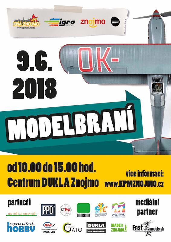 modelbraní 2018 plakát