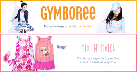 Shop Gymboree IN SOUTH AFRICA with a 50% SALE!!!