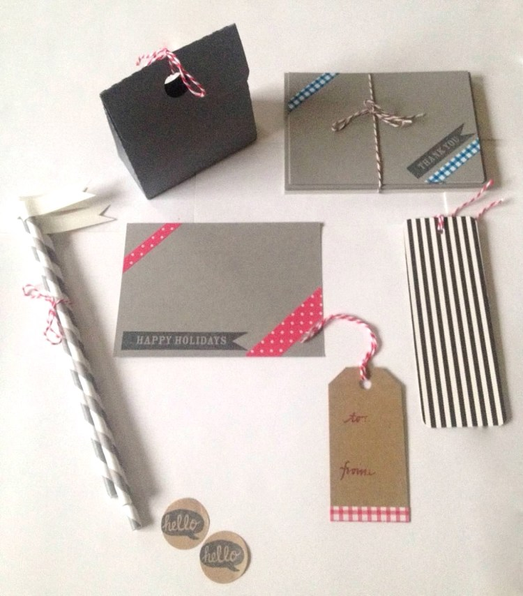 Last Christmas stationery kits as gifts.