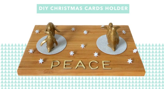 kraft&mint DIY Christmas Cards Holder