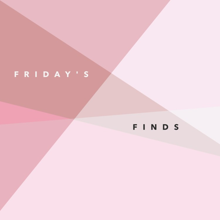 kraft&mint Friday Finds, tips, discoveries, recipes, fashion