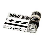 They had me at black and white washi tape.