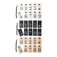 """Numbered gift tags… Can you say """"Instant Advent Calendar?"""""""