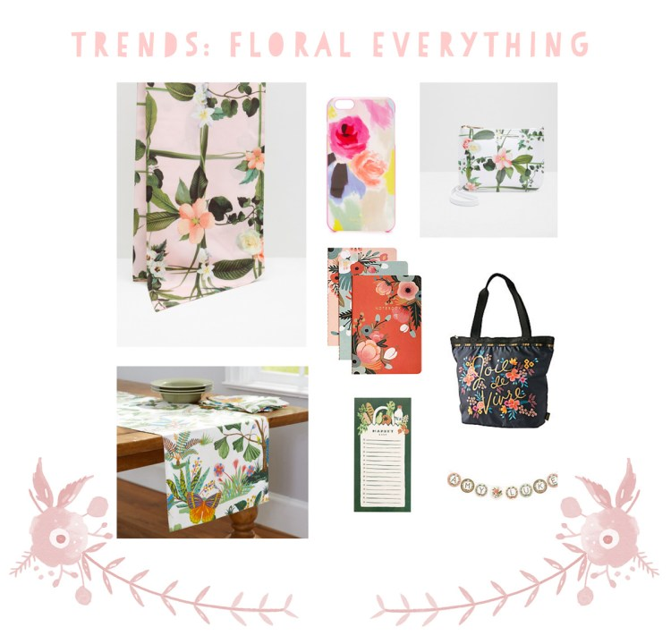 Crazy for this floral trend - kraft&mint