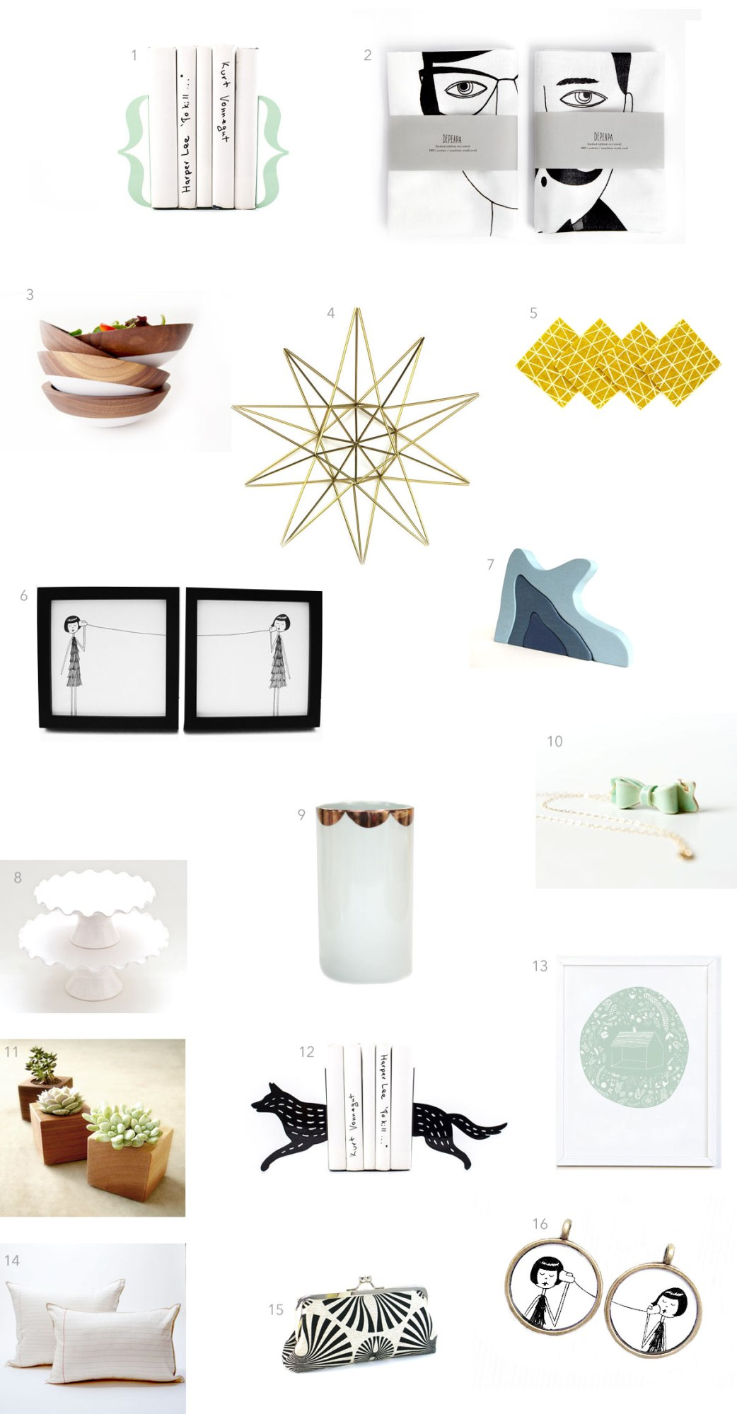 kraft&mint Etsy gift guide for the women in your life