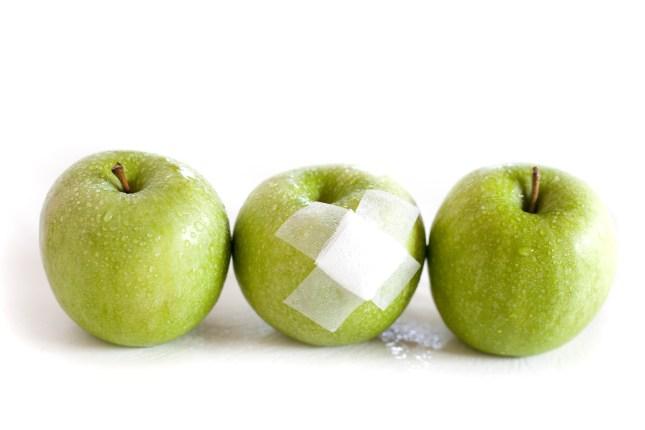 les trois pommes