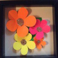 Hjemmelavet Billede Blomster