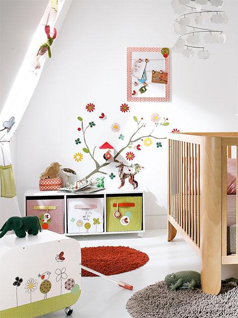 Kinderzimmer gestalten fliegenpilz