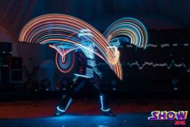 Заказать в Минске и по всей Беларуси цирковых артистов: Светодиодное неоновое шоу