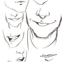 Ako kresliť Manga ústa