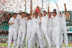 ashes series 2013 England Team