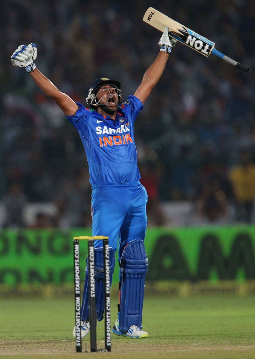 Recent Heroics of Rohit Sharma
