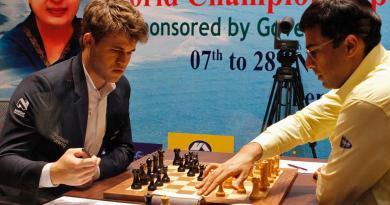 Magnus Carlsen vs Vishwanathan Anand