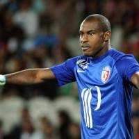 Vincent Enyeama enjoying cult hero status with Lille supporters