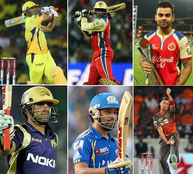 IPL Franchises Announce List of Retained Players