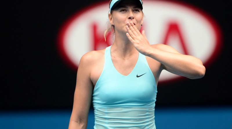 Maria Sharapova Australian Open news