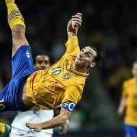 Zlatan Ibrahimovic- The impeccable Striker