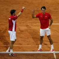 Switzerland Win Doubles to Take a Crucial 2-1 Lead on Second Day of Davis Cup Final at Lille